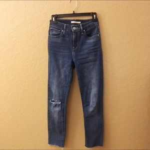 Levi's 721 High Rise Skinnies